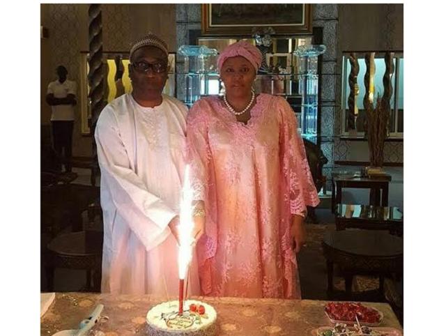 Gumsu Sani Abacha & her billionaire husband, Mohamadou Bayero Fadil celebrate 17th Wedding Anniversary (Photos)