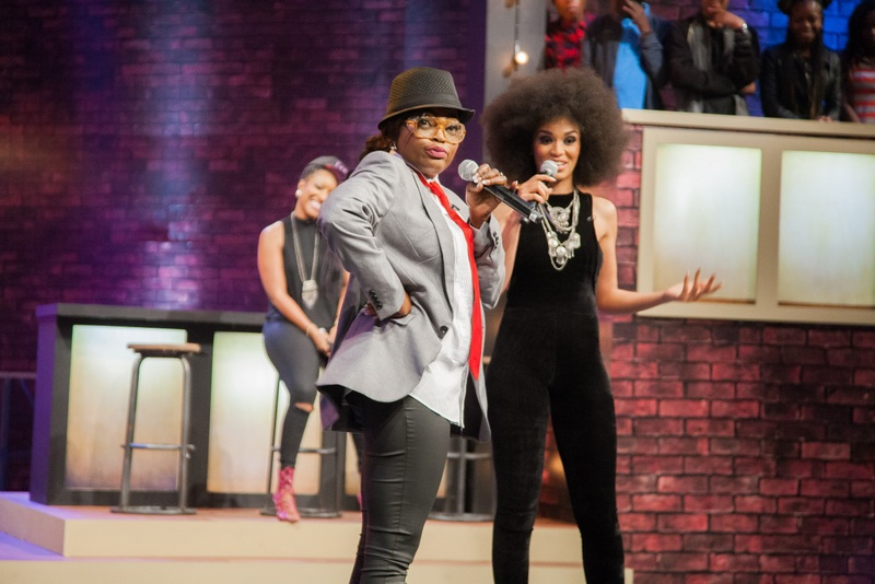 Funke Akindele and Joselyn Dumas battle it out on Lip Sync Africa (See Photos)