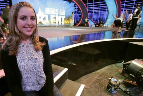 US woman is star of 'Arabs Got Talent' TV show