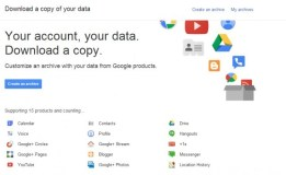 Google Now Allows You to Download Archives of Your Gmail and Calendar Data