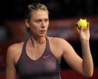 Maria Sharapova happy with 'baby step' return