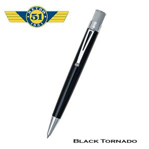 Retro51 Tornado Black Roller Pen