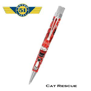 Retro51 Cat Rescue Roller Pen