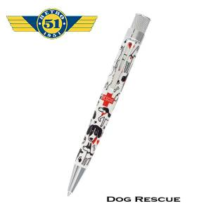 Retro51 Dog Rescue Roller Pen