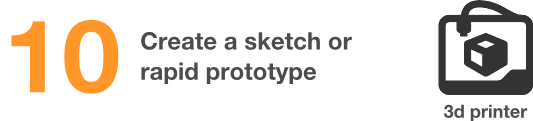 create a rapid prototype