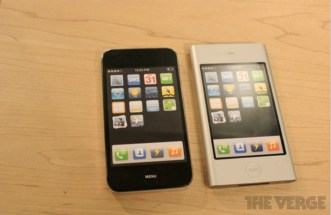 Apple iPhone prototypes side by side comparison