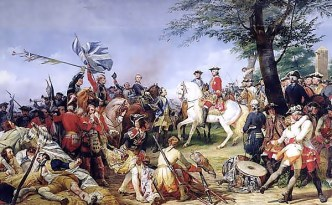 The Battle of Fontenoy, 11th May 1745 by Horace Vernet