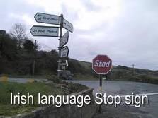 irish stop