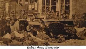 brit barricade 1916