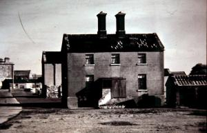 The pigeon house sanitarium where Frank Moss died of tuberculosis.