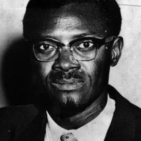 Patrice Lumumba.