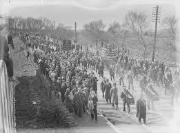 Captain Redmond's funeral in 1932.