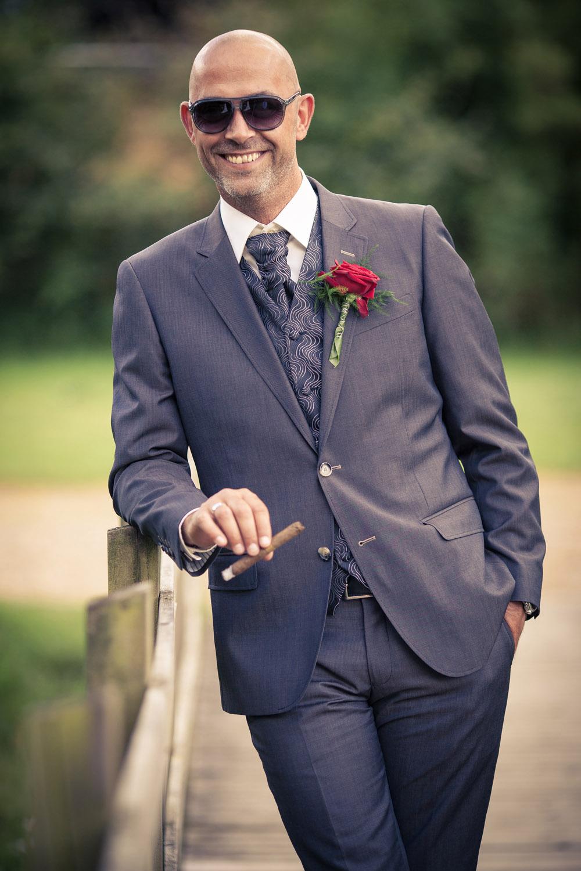 En gom har da fortjent en cigar på sin bryllupsdag