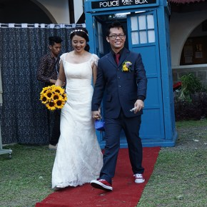 Got married to the Doctor! Part 2: the wedding garb
