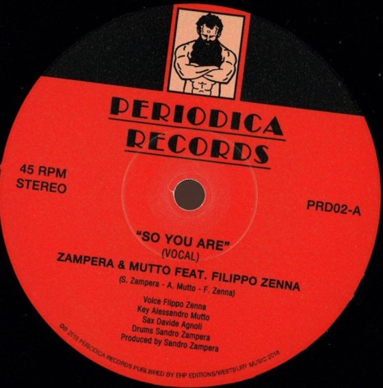 "Zampera and Mutto Feat. Filippo Zenna - ""So You Are"""