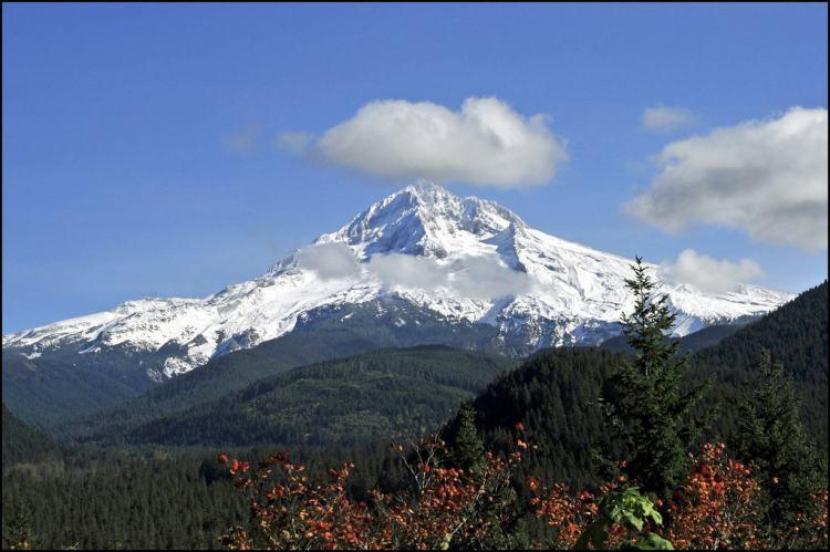 Top of Mt. Hood, Oregon