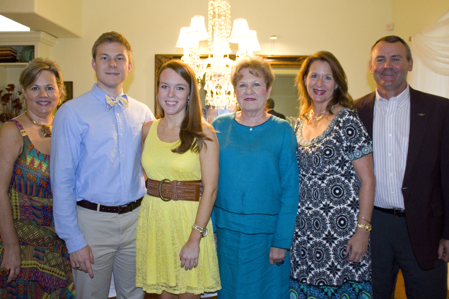 with the hostesses of our party in belton [photo by rebekah jarratt]
