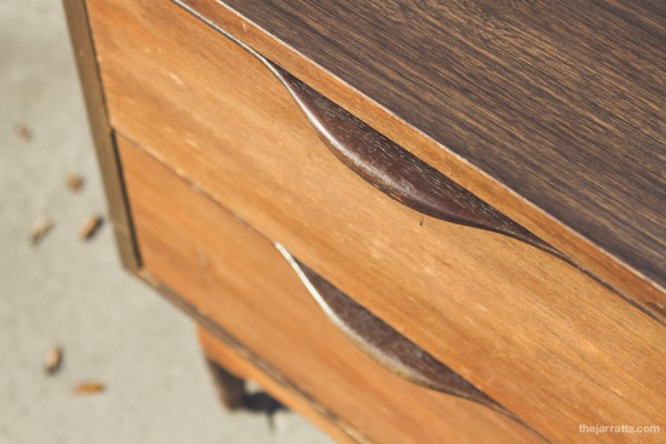 Drawer detail. savannah loves the mix of curves and corners.