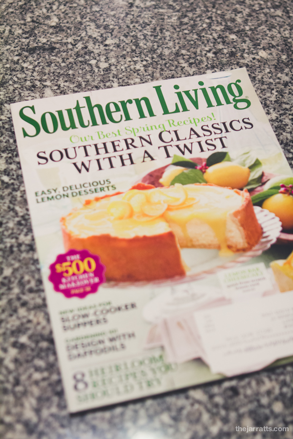Southern Living, March 2013
