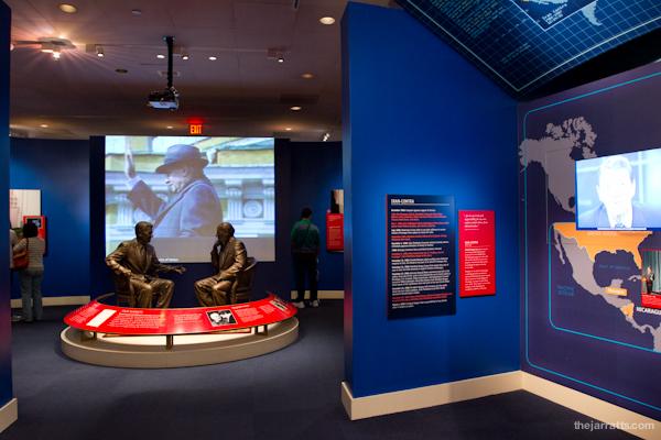 Reagan exhibits