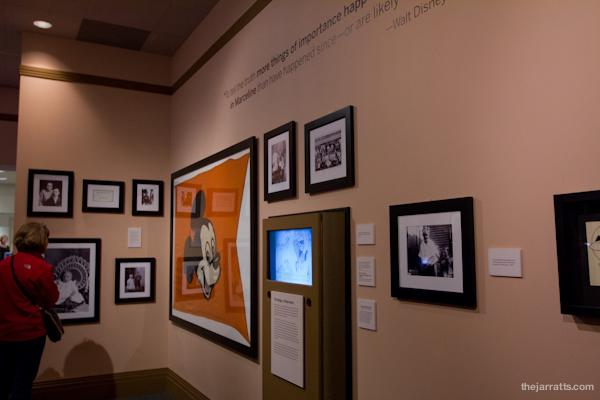 Treasures of the Walt Disney Archives exhibit