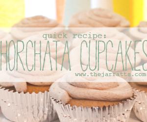 Horchata cupcakes recipe