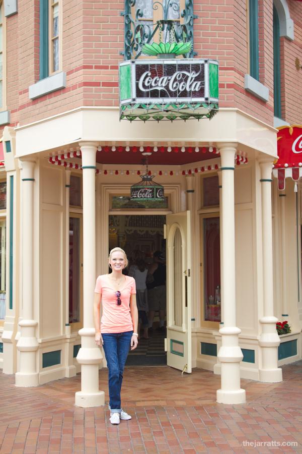 Coca-Cola scholar's gotta take a pic with the coke sign