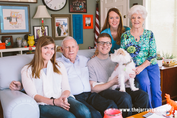 grandad and janice visit