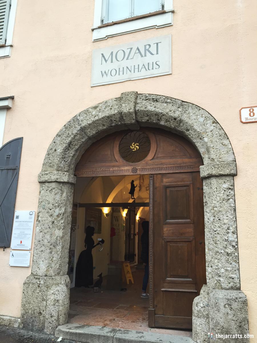 mozart's wohnhaus