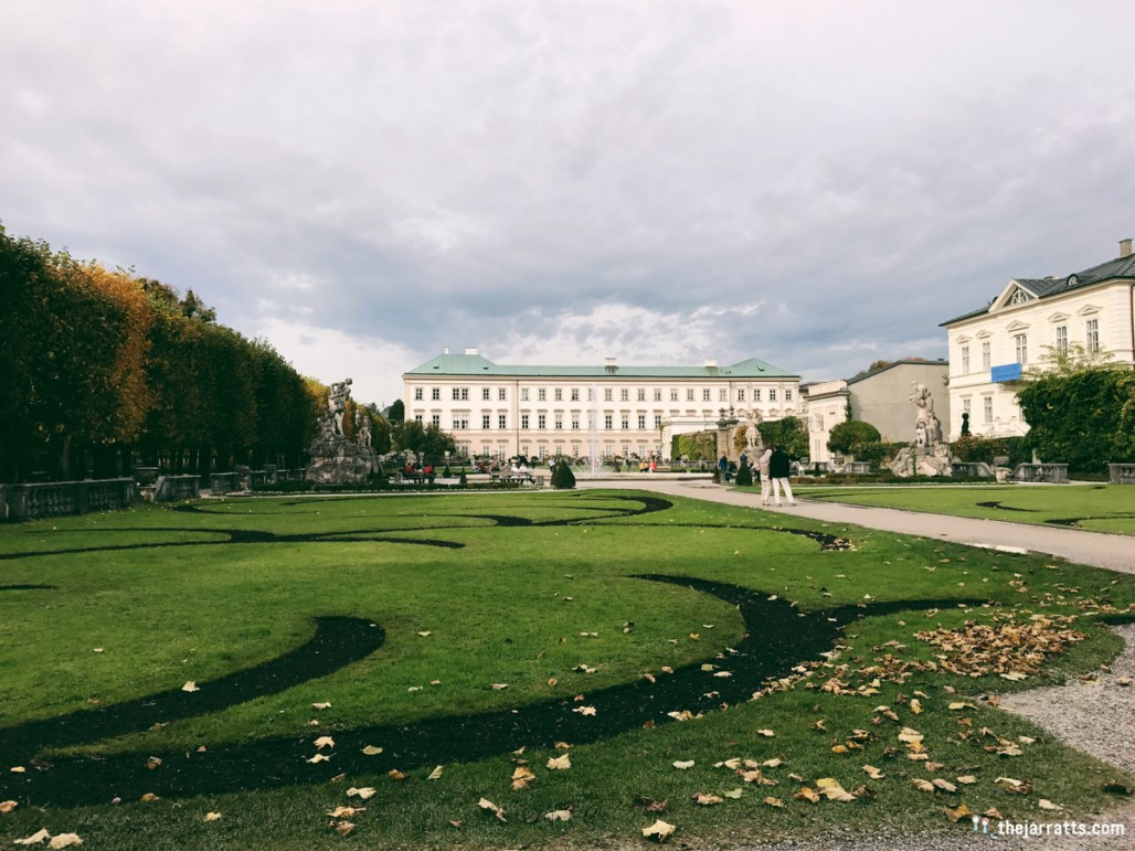 The garden behind Mirabell Palace