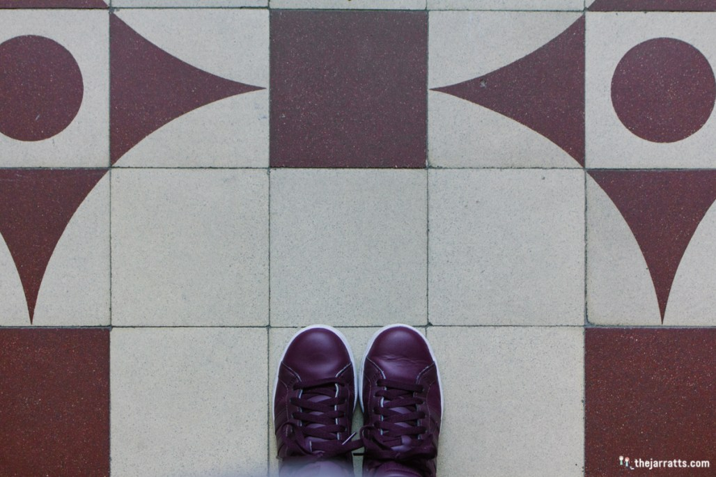 When your shoes (almost) match the tile, you gotta take at least one #fromwhereistand photo.