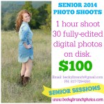 Seattle's Best Coffee WINNERS + Senior Session Photo Special