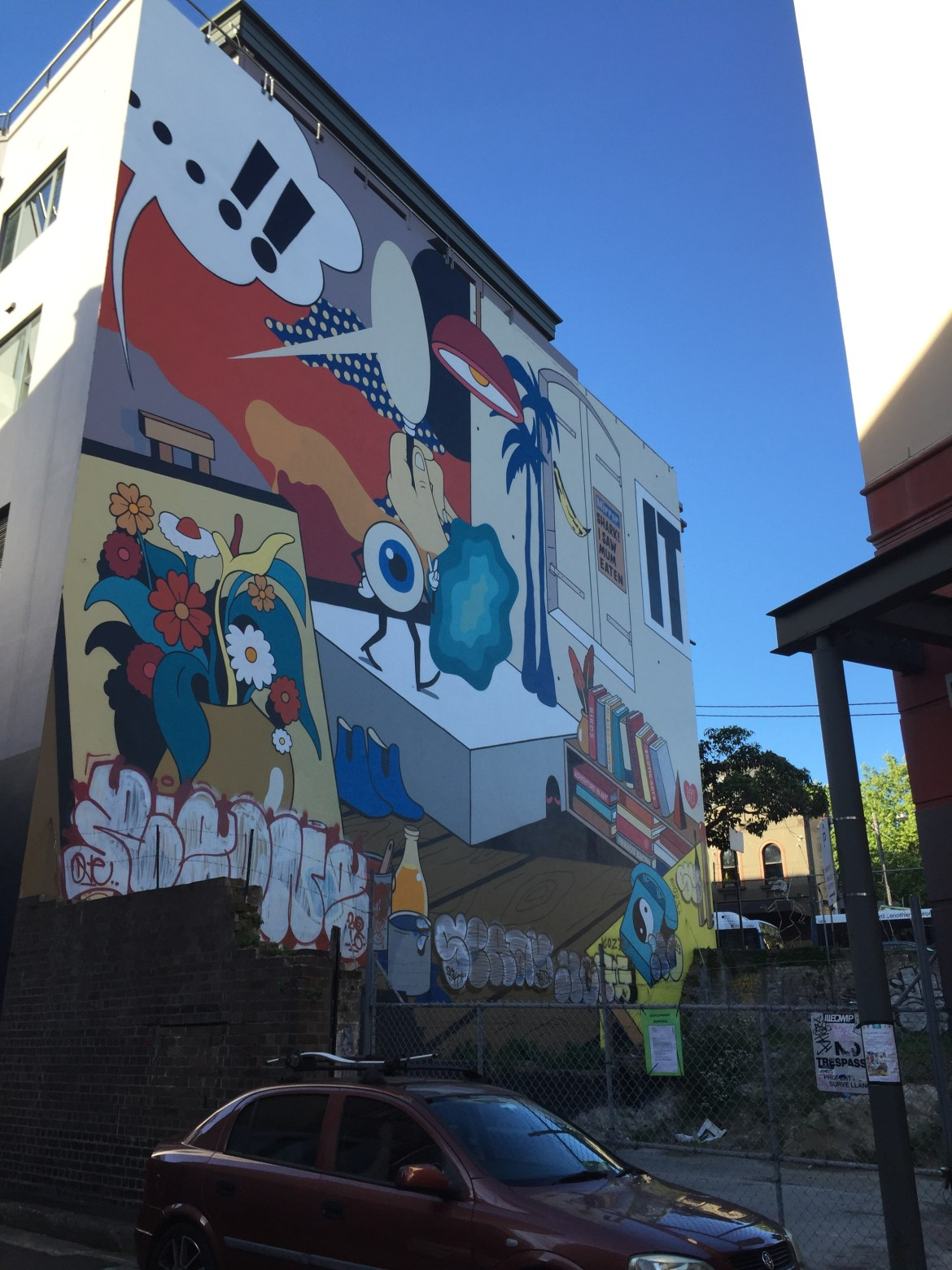 {Photoblog} Sydney Street Art - The Jax Blog