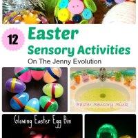 12 Easter Sensory Activities