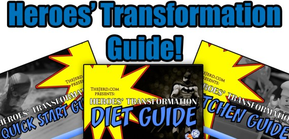 Heroes Transformation bundle