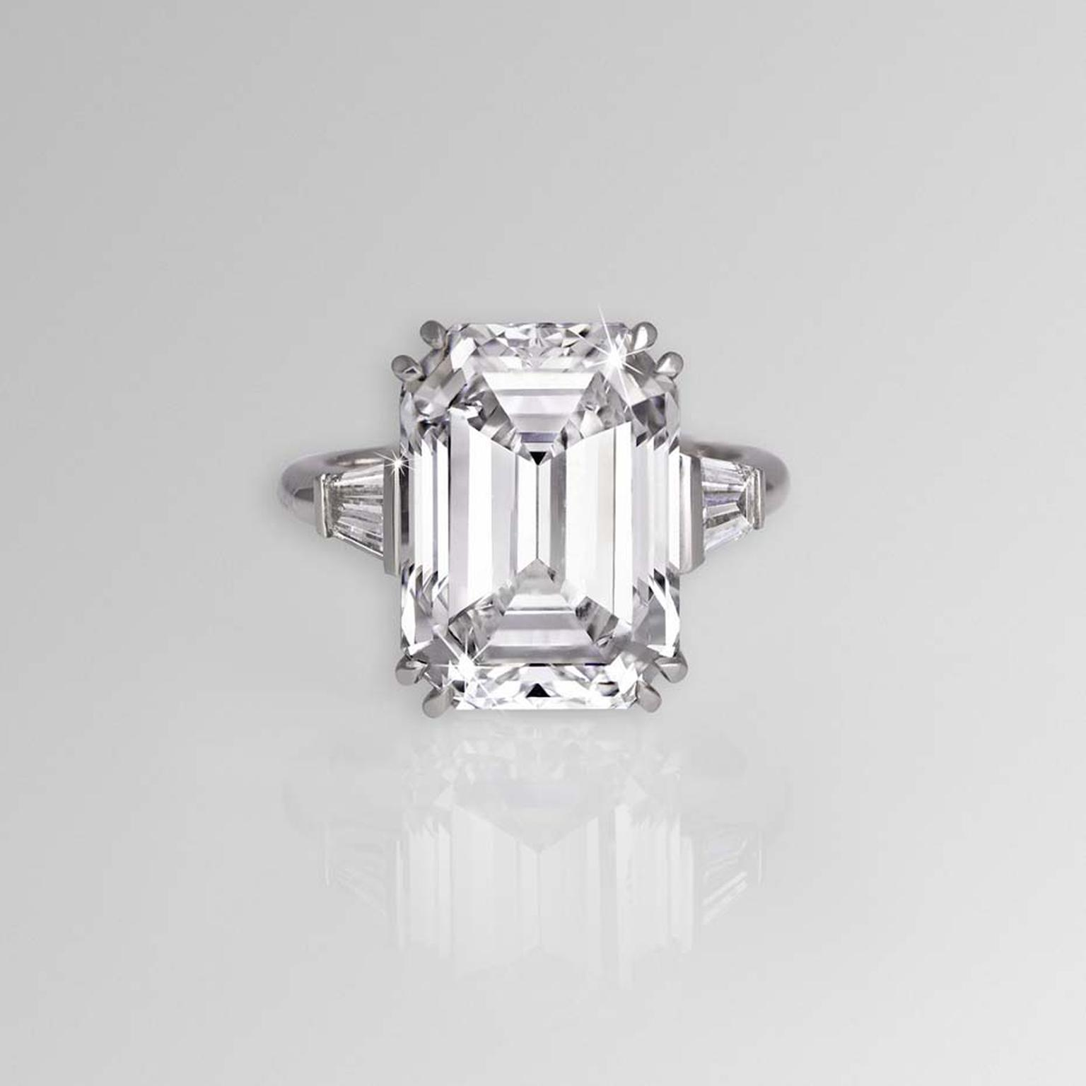 Fullsize Of Emerald Cut Diamond