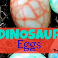 Easter Dinosaur Eggs