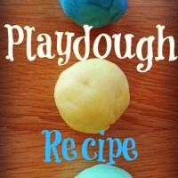 Easy Playdough Recipe - Never Buy Playdough Again