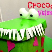 Crocodile Valentine Box