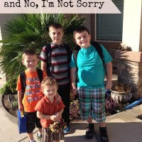 Yes, I'm Raising Boys and No, I'm not Sorry