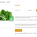 The Kale Box by Fraichmarket.com