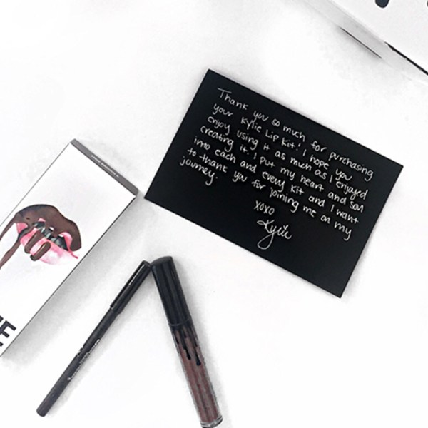 Win a free Lip Kit by Kylie in the color True Brown K.