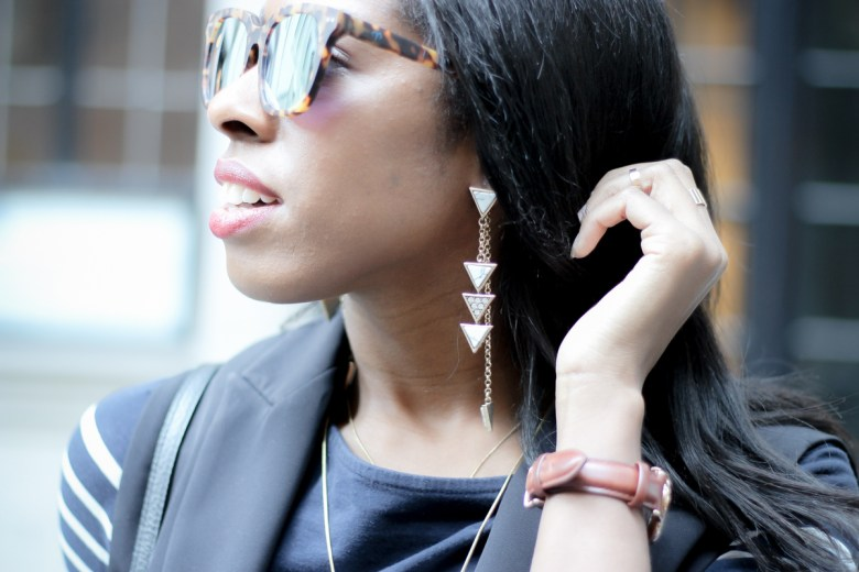 Happiness Boutique Dangle Marble Earrings