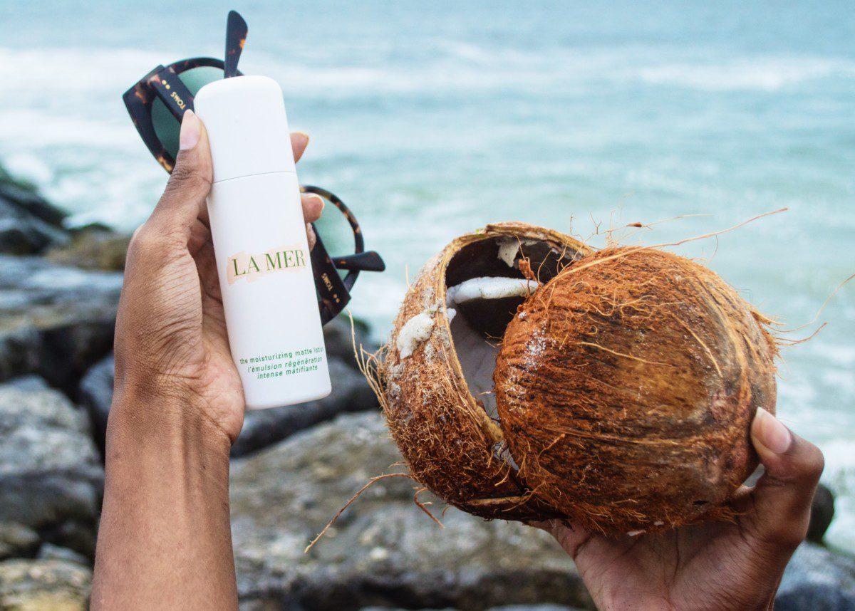 La Mer Moisturizing Matte Lotion-- The best moisturizer for oily skin.