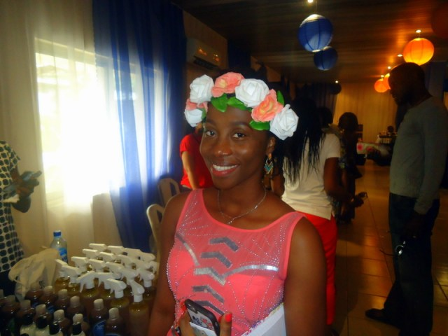 Desola, one half of The Shower Girls