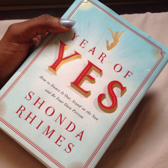 Great Books- Shonda Rhimes- Year of Yes