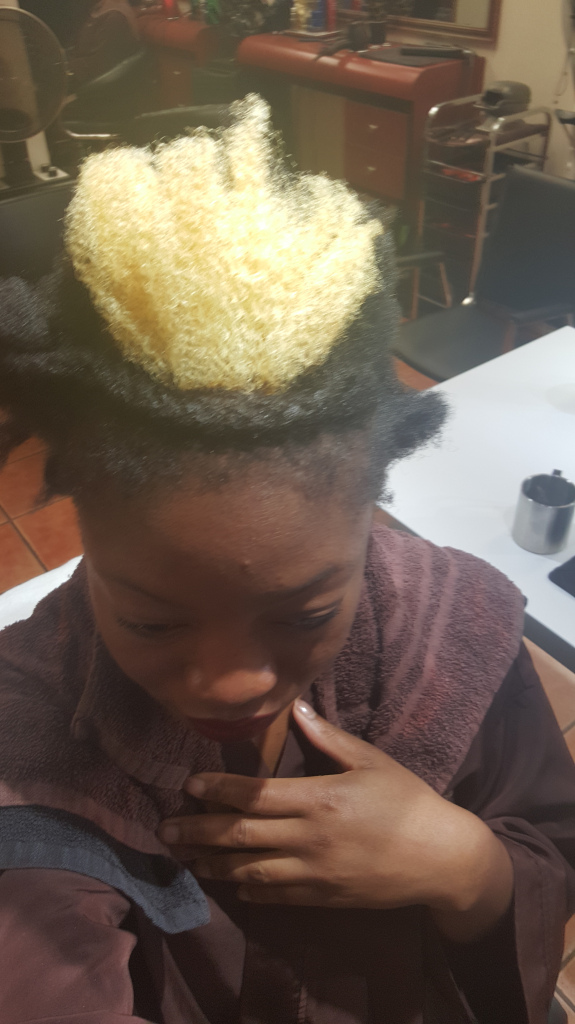 Dyeing 4C Natural Hair- Honey Salon Harlem