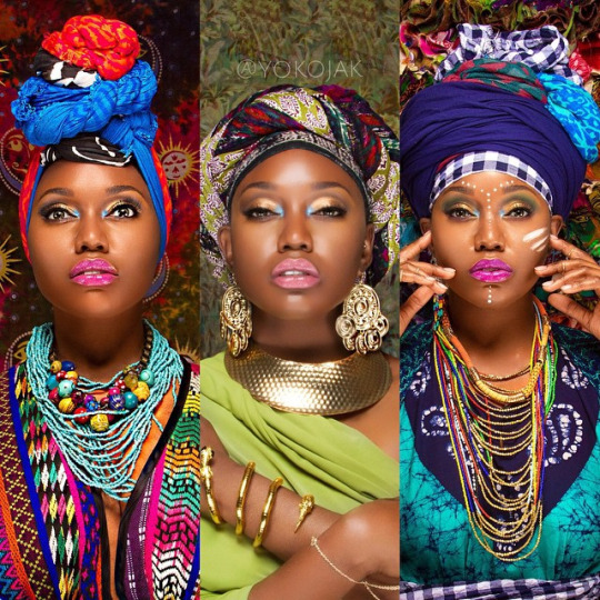 Styled by YoKo- Naturals in Headwraps