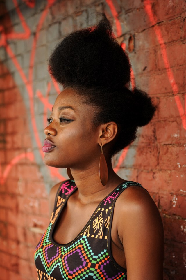 Natural Hair- Pompadour- High puff