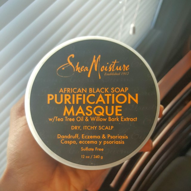 Shea Moisture African Black Soap Purification Masque Review